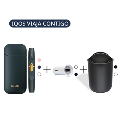Pack: IQOS 2.4 Plus Kit + IQOS Car Charger + Car Tray (Peninsula and Balearic Islands), , medium