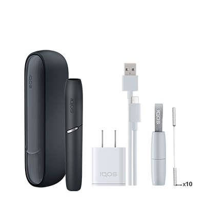IQOS 3 Kit - Black (Peninsula and Balearics), Black, large