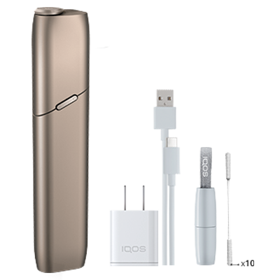 IQOS 3 MULTI Kit - Brilliant Gold (Peninsula and Balearics), Brilliant Gold, large