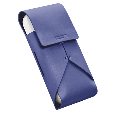 Leather Pouch IQOS 2.4 Plus - Purple (Peninsula and Balearic Islands), Periwinkle, large