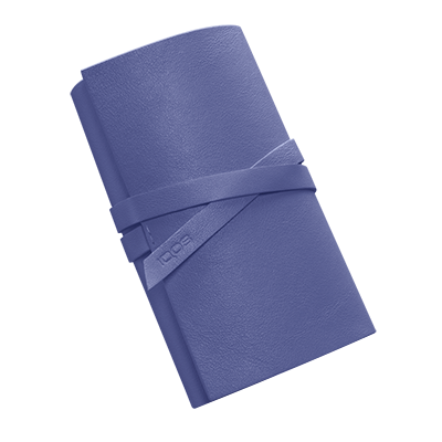 Leather Roll IQOS 2.4 Plus - Periwinkle (Peninsula and Balearic Islands), Periwinkle, large