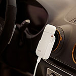 Car Mount - White, White, medium