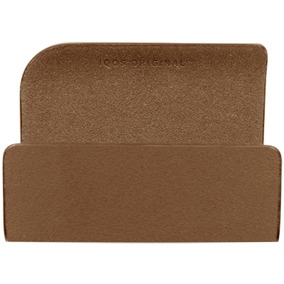 Leather Clip IQOS 2.4 Plus - Brown (Canary Islands), Brown, large