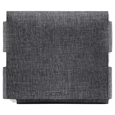 Fabric Folio IQOS 3 - Grey (Peninsula and Balearic Islands), Grey, large