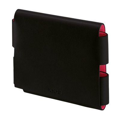 Leather Folio IQOS 3 Black-Motor edition (Peninsula and Balearic Islands), Black-Motor edition, large