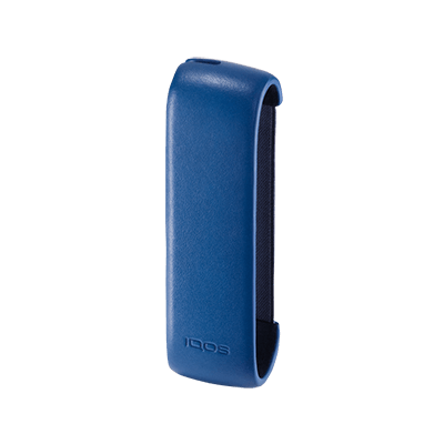 Leather Sleeve IQOS 3 - Royal Blue (Peninsula and Balearic Islands), Royal Blue, large