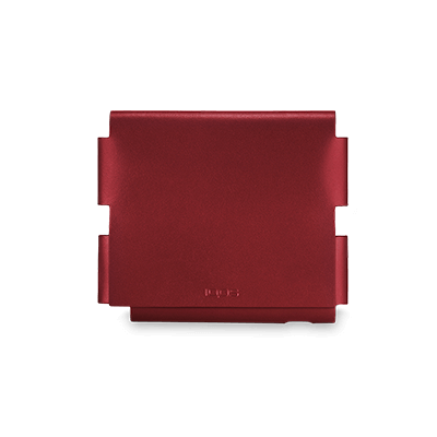 Leather Folio IQOS 3 - Deep Red (Peninsula and Balearic Islands), Deep Red, large