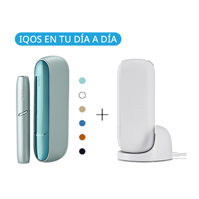 Pack: Kit + Cargador de Mesa IQOS 3 DUO (Canarias), , medium