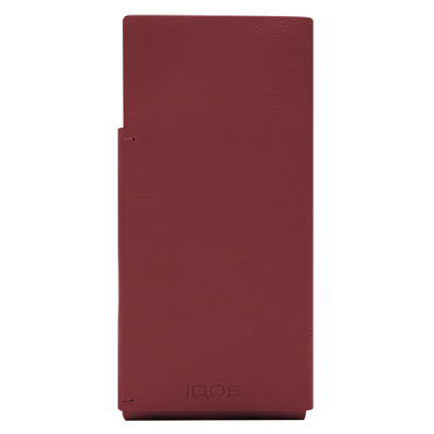 Leather Sleeve IQOS 2.4 Plus - Red (Peninsula and Balearic Islands), Red, large