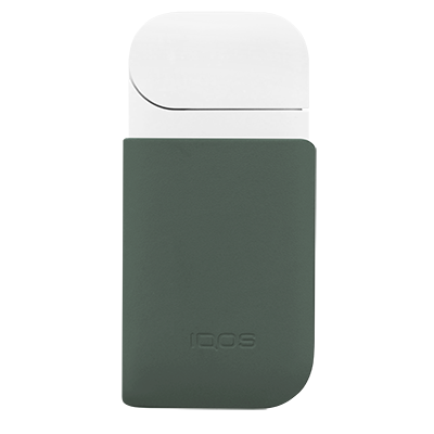Leather Clip IQOS 2.4 Plus - Green  (Canary Islands), Green, large