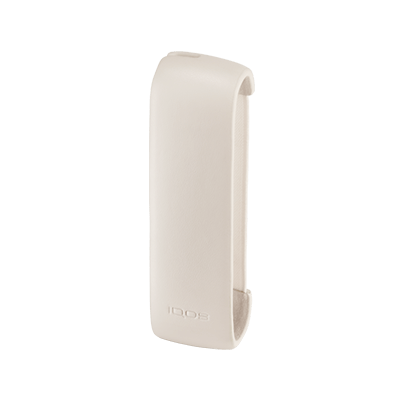 Leather Sleeve IQOS 3 - Cream (Canary Islands), Cream, large