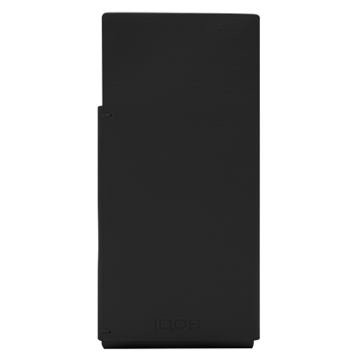 Leather Sleeve IQOS 2.4 Plus - Black (Peninsula and Balearic Islands), Black, large