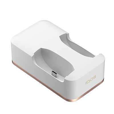 IQOS Dual Charging Dock White, White, large