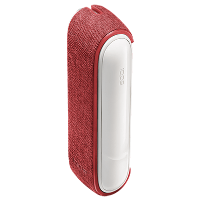 Fabric Sleeve IQOS 3 - Red (Peninsula and Balearic Islands), Red, large