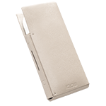 Leather Sleeve IQOS 2.4 Plus - Cream (Peninsula and Balearic Islands), Cream, medium