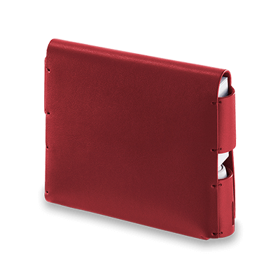 Leather Folio IQOS 3 - Deep Red (Canary Islands), Deep Red, large