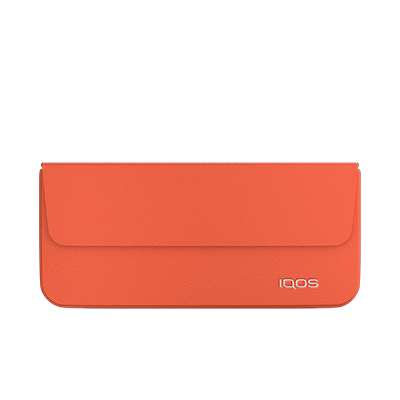 Carry Case IQOS Plus - Tiger Lily (Peninsula and Balearic Islands), Tiger Lily, large