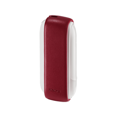 Leather Sleeve IQOS 3 - Deep red, Deep Red, large