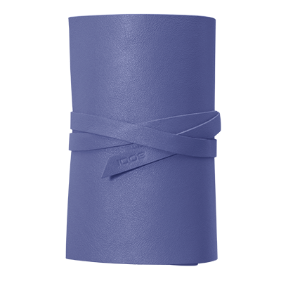 Leather Roll IQOS 2.4 Plus - Periwinkle (Canary Islands), Periwinkle, large