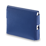 Leather Folio IQOS 3 - Royal Blue (Peninsula and Balearic Islands), Royal Blue, medium