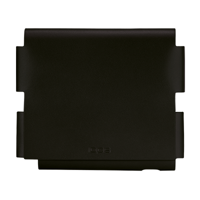 IQOS 3 Leather Folio, Black-Motor edition, large