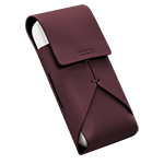 Leather Pouch IQOS 2.4 Plus - Burdeos (Peninsula and Balearic Islands), Burgundy, medium