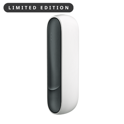 IQOS 3 DUO Aluminum Door Cover - Black (Canary Islands), BLACK, large
