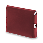 Leather Folio IQOS 3 - Deep Red (Canary Islands), Deep Red, medium