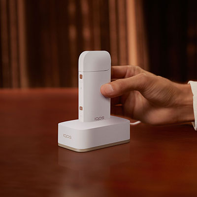 IQOS Single Charging Dock White, White, large
