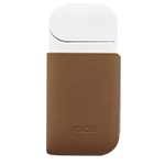 Leather Clip IQOS 2.4 Plus - Brown (Canary Islands), Brown, medium