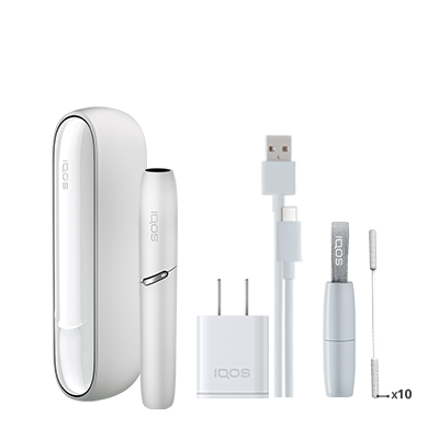 IQOS 3 Kit - White (Peninsula and Balearics), White, large