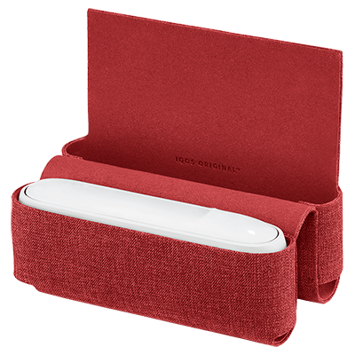 Fabric Folio IQOS 3 - Red (Peninsula and Balearic Islands), Red, large