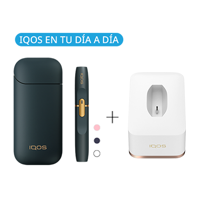 Pack: Kit + Cargador de mesa IQOS 2.4 Plus (Canarias), , medium