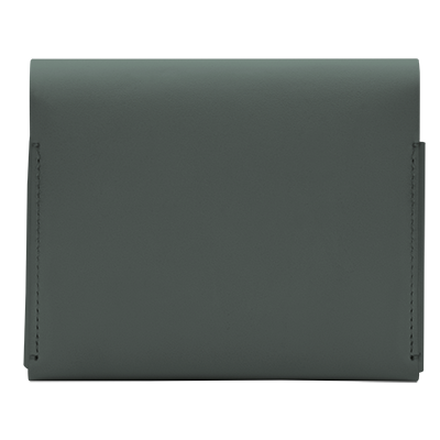 IQOS 2.4 Plus Leather Wallet (medium) Green (Canary Islands), Green, large