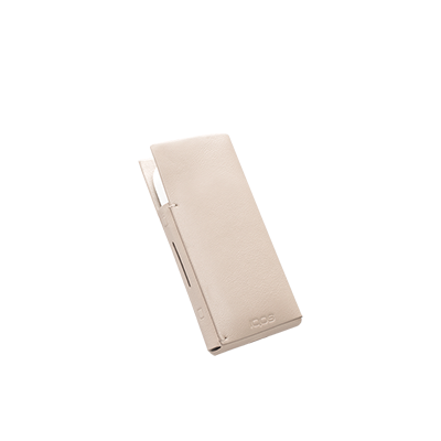 Leather Sleeve IQOS 2.4 Plus - Cream (Peninsula and Balearic Islands), Cream, large