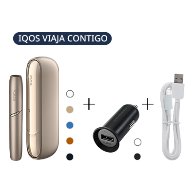 Pack: IQOS 3 DUO Kit + IQOS Car Charger + IQOS 3 USB Cable (Canary Islands), , medium