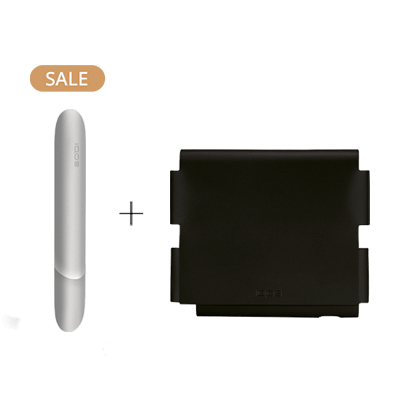 Pack: IQOS 3 Aluminum Door Cover + Leather Folio IQOS 3 Motor Edition (Peninsula and Balearic Islands), , large