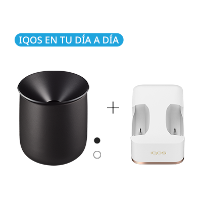 Pack: IQOS Ceramic Tray + Dual Charging Dock 2.4 Plus  (Canary Islands), , medium