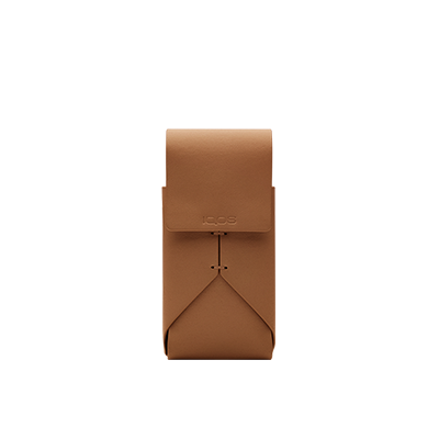 Leather Pouch IQOS 2.4 Plus - Brown (Canary Islands), Brown, large