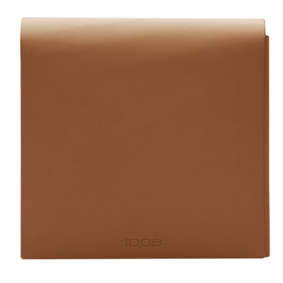 IQOS 2.4 Plus Leather Wallet (Small) Brown (Peninsula and Balearic Islands), Brown, large