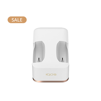IQOS Dual Charging Dock (Canary Islands), White, medium