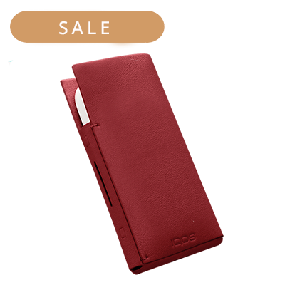 LEATHER SLEEVE, Red, medium